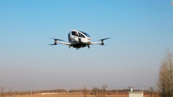 china ehang drone