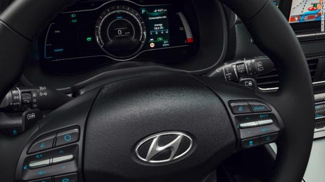 hyundai kona electric gauge