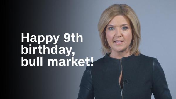 Happy 9th birthday, bull market! - Video - Business News