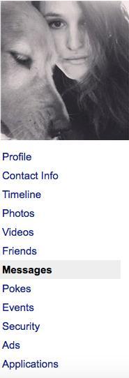 facebook data sara messages