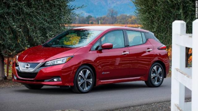 Nissan Leaf front corner