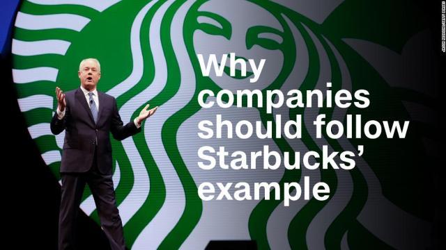Richard Quest: Companies should follow Starbucks' example