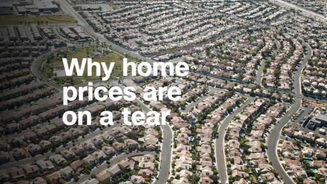 Why home prices are on a tear