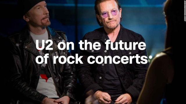 Bono and The Edge: Why U2 is embracing AR tech on tour