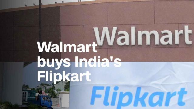 Walmart is buying Indian online retailer Flipkart