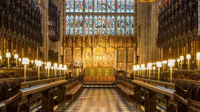 Inside Harry and Meghan's wedding chapel