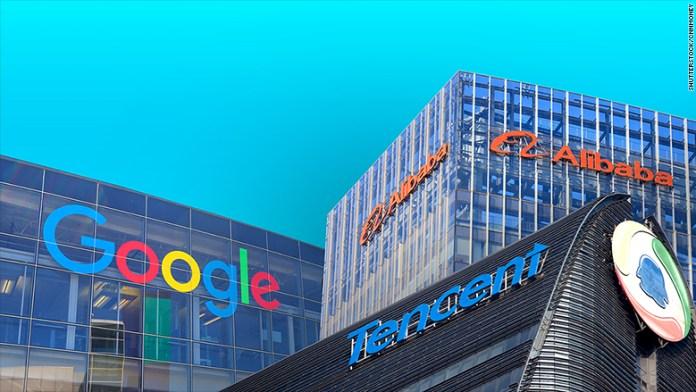 tencent alibaba google