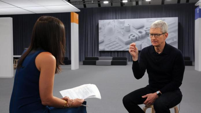 Watch the full exclusive interview with Apple CEO Tim Cook