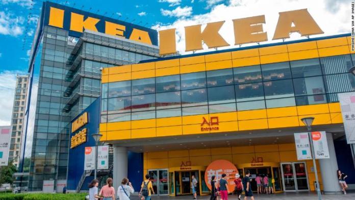 ikea shanghai customers RESTRICTED