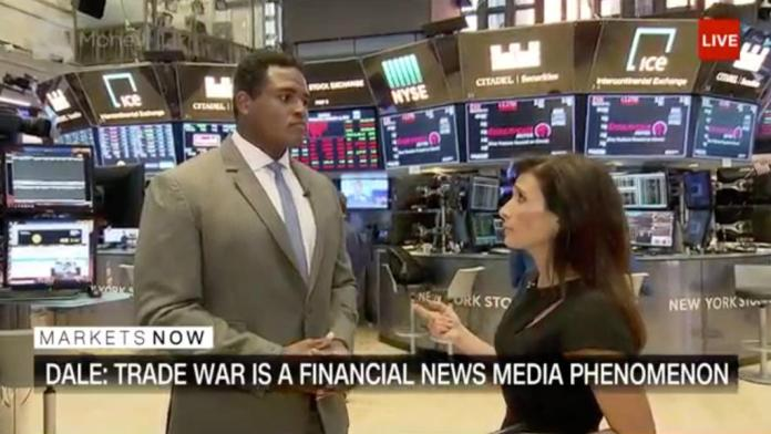 Analyst: Trade war is big headline, not big problem