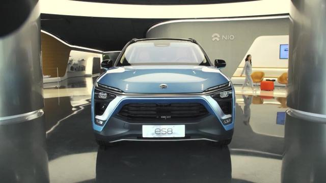 China's Nio takes on Tesla