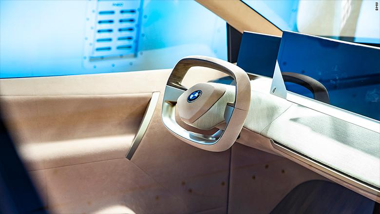 Intérieur de BMW INext