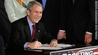 Bush stimulus: 2008