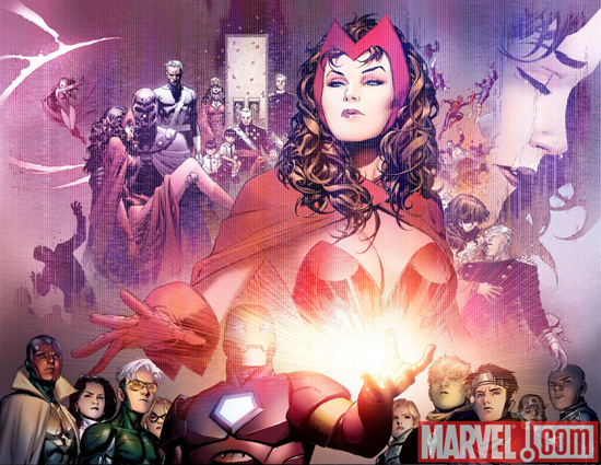 Scarlet Witch History