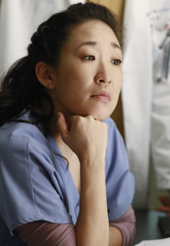 Sandra Oh from Grey's Anatomy