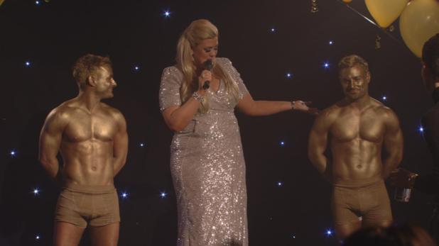 Gold twins TOWIE