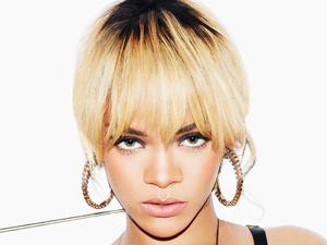 Rihanna poses for Esquire