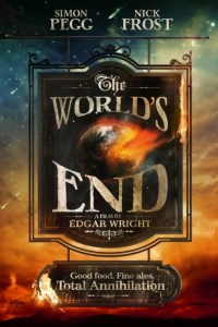 Poster for 2013 comedy film The World's End