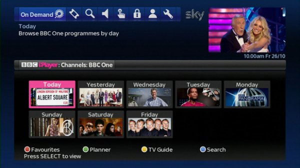 BBC iPlayer goes live on Sky+ catch-up TV service - Tech ...