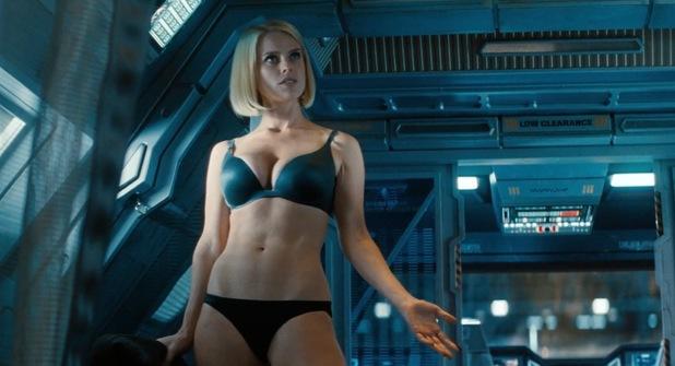 Star Trek Into Darkness Alice Eve Underwear