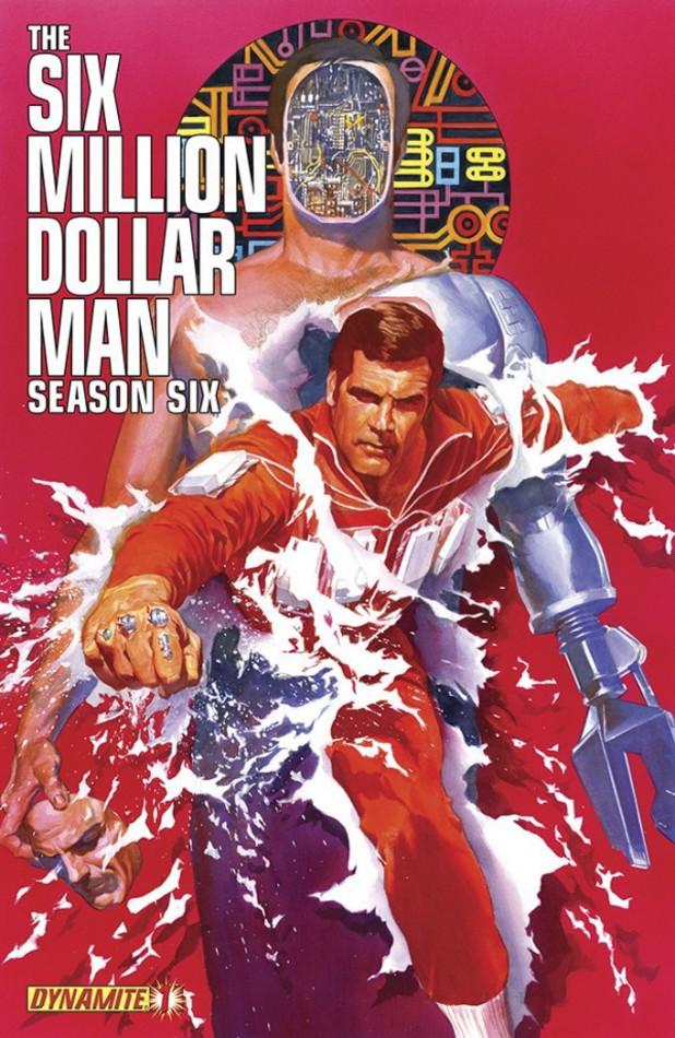 Six Million Dollar Man: Season 6 cover design