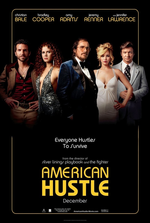 David O. Russell's 'American Hustle' character poster.