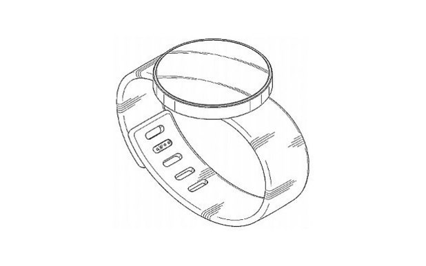 Patent design for Samsung's Gear Solo