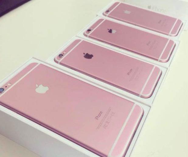 Pink iPhone 6S leak