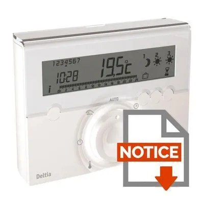 Thermostat Delta Dore Tybox 117 Mode Demploi Kapokto