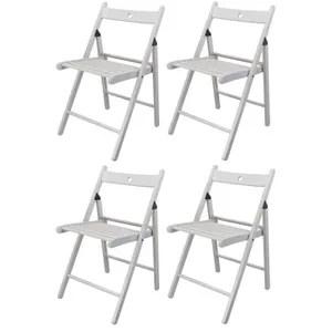 chaise harbour housewares chaises pliantes en bois bl