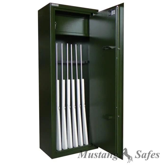 Coffre Fort Mustang Safes Pour 8 Armes Longues Achat