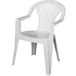 fauteuil jardin chaise de jardin lido blanc areta