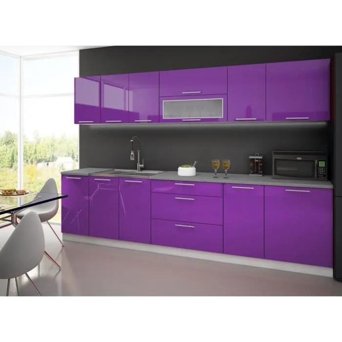 Meuble Cuisine Violet Table De Cuisine