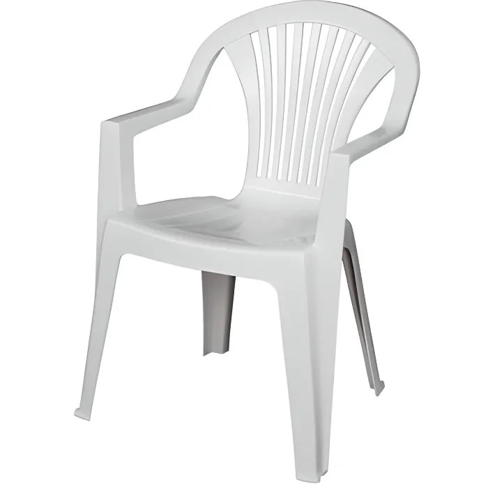 chaise de jardin lido blanc areta