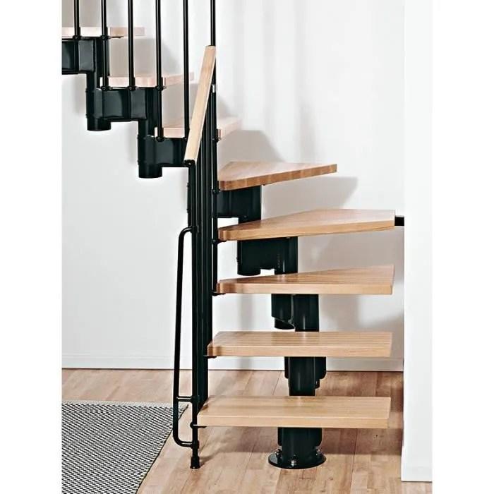 escalier quart tournant milieu pas cher