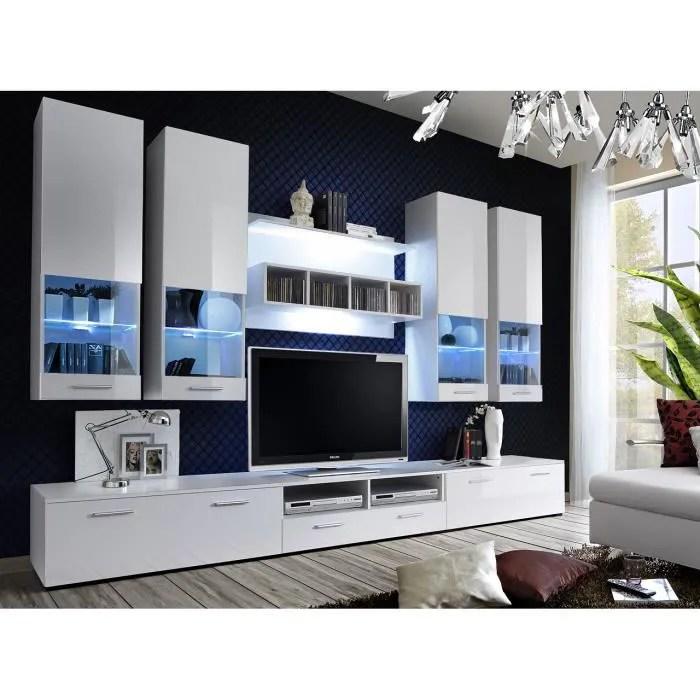 Meuble De Salon Tv BETA Complet Design Led Achat