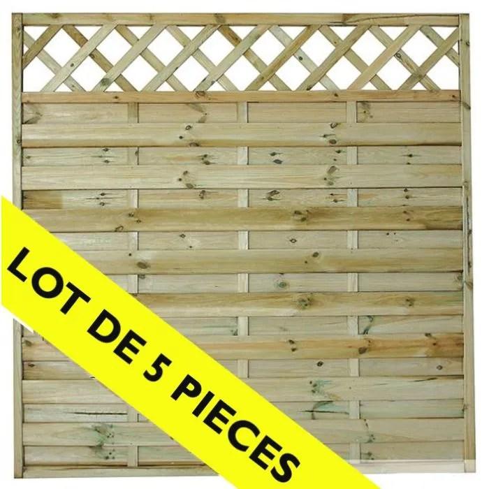 Penmie Bee Panneau Brise Vue En Bois Brico Depot