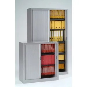 meuble classement rehausse armoire h44xl120xp43 cm gris 7035 ridea