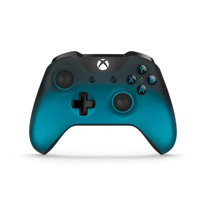 Manette Xbox Sans Fil Ocean Shadow Achat Vente Manette