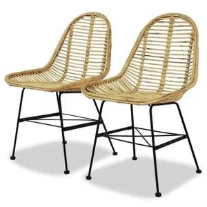 chaise chaises de cuisine chaise de salle a manger 2 pcs