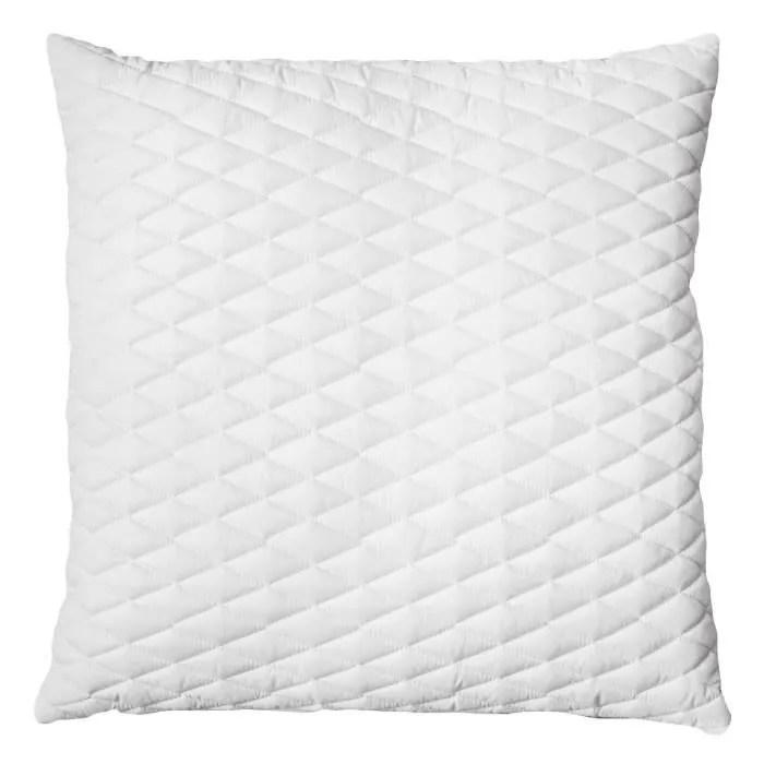 dormipur oreiller dehoussable a memoire de forme dreamer 60x60 cm