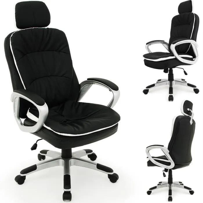 chaise de bureau confort repose tete flexible