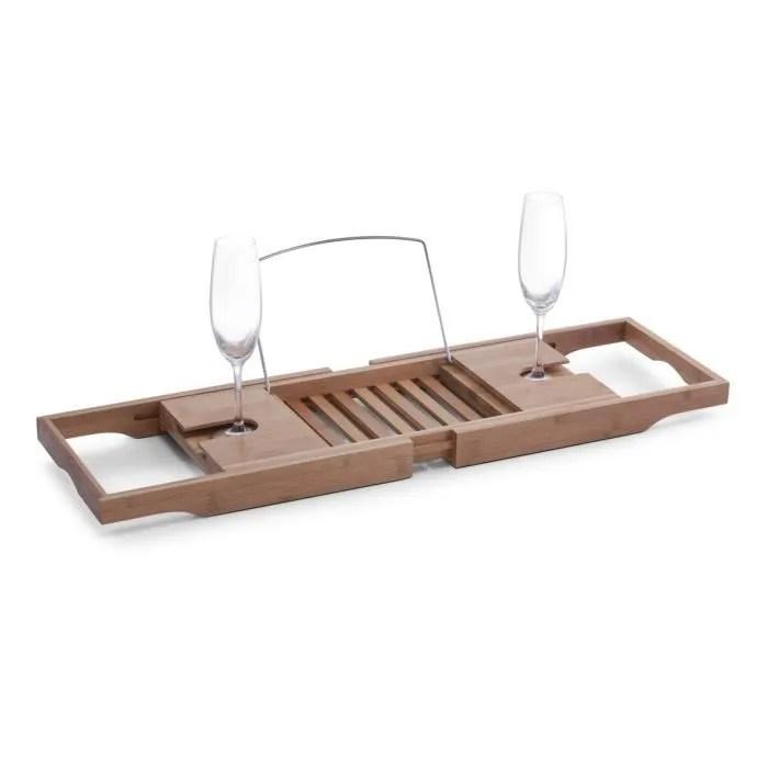 Support Tablette De Baignoire Bamboo Et Chrom 1306 Prix