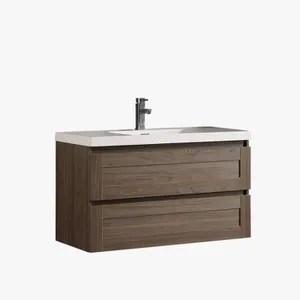 meuble vasque plan meuble sous vasque salle de bain suspendu 2 tiroir