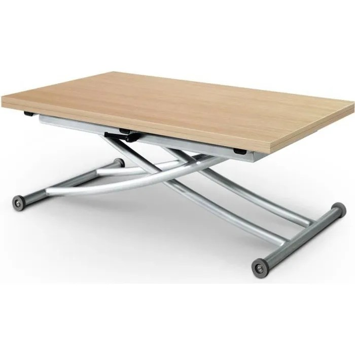 Table Basse Relevable Carrera Chne Clair Achat Vente