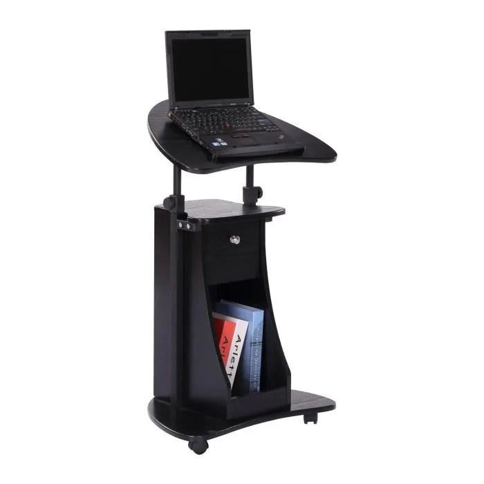 Table Informatique Pour Ordinateur Portable Roulettes