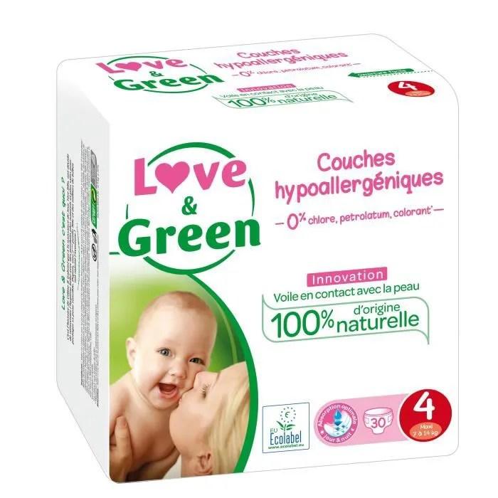 couche love green 30 couches ecologiques hypoallergeniq