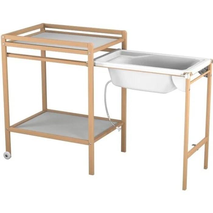 Table Langer Avec Baignoire Bb Achat Vente Table