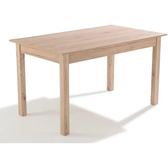 nosa table a manger 4 a 6 personnes classique bois l 1395 x l 80 cm