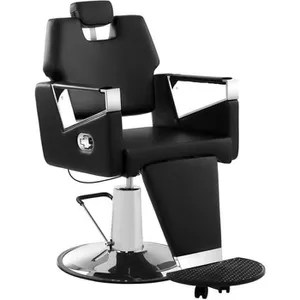 fauteuil de coiffure barbier fauteuil salon de coiffure physa turin black haut